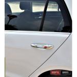 Volkswagen Golf 7 накладки хром на дверные ручки - 2014