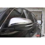 Toyota Highlander XU50 2014 накладки хром на зеркала - 2014