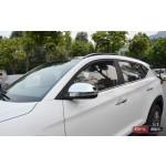Hyundai Tucson TL 2015 накладки хром на зеркала - 2015