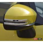 Suzuki Vitara 2015 накладка хром на зеркала - 2015