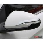 Hyundai Elantra AD 2016+ хром накладки на зеркала - 2016