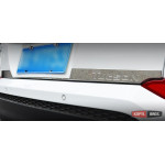 Hyundai Tucson TL 2015 накладка хром на заднюю дверь нижняя - 2015