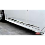 Ford Focus 3 молдинги дверные хром - 2012