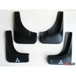 Mitsubishi Outlander XL брызговики колесных арок ASP передние и задние полиуретановые без порогов - 2009
