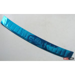 Skoda Fabia 3 накладка защитная на задний бампер - 2015