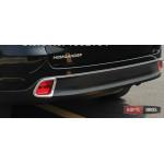 Toyota Highlander XU50 2014 накладка хром на противотуманные фонари малая - 2014