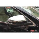 Toyota Highlander XU50 2014 накладки хром на зеркала - 2015