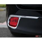 Toyota Highlander XU50 2014 накладка хром на противотуманные фонари большая - 2014