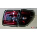 Nissan Patrol Y62 оптика задняя тонированная красная LED альтернативная светодиодная YZ - 2010