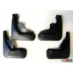 Ford Ecosport брызговики колесных арок передние и задние полиуретановые с лого - 2013