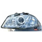 Seat Ibiza оптика передняя хром - 2002