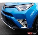 Toyota RAV4 Mk4 2016+  хром накладки  на передние противотуманные фары тип B - 2016
