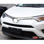 Toyota RAV4 Mk4 2016+ хром накладка на решетку радиатора верхняя - 2016