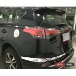 Toyota RAV4 Mk4 2016+ хром накладка на задний бампер - 2016