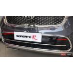 Kia Sorento UM 2015+ хром накладки на решетку радиатора тип A - 2015