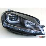 Volkswagen Golf 7 оптика передняя альтернативная SY с бегущим указателем поворотов JunYan