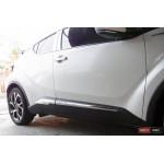 Toyota C-HR молдинги дверные хром SS малые ASP