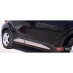 Toyota C-HR молдинги дверные хром SS большие ASP