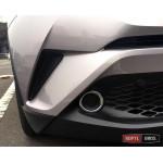 Toyota C-HR накладки хром на передние противотуманные фары ASP