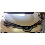 Toyota C-HR накладка хром передняя под эмблему ASP
