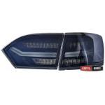 Volkswagen Jetta Mk6 оптика задняя светодиодная LED черная A6 - 2012
