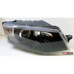 Skoda Octavia A7 оптика передняя тюнинг с ДХО / headlights DRL JunYan