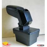 Skoda Octavia A7 подлокотник ASP Euro CUP черный виниловый