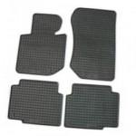 Резиновые коврики Skoda OCTAVIA III 2013 черные 4 шт - Petex
