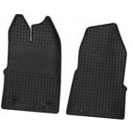 Резиновые коврики FORD TRANSIT CUSTOM 2012 черные 2 шт - Petex
