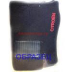 Коврики текстильные CITROEN C3/DS3 2002-2009 черные в салон