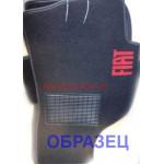 Коврики текстильные FIAT 500L с 2013 черные в салон