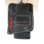 Коврики текстильные HONDA CIVIK 2006-2012 седан черные
