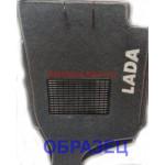 Коврики текстильные Lada 2108-2109 серые в салон