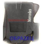 Коврики текстильные MERCEDES ML [164] с 2005 серые в салон