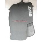 Коврики текстильные SEAT ALTEA FREETRACK с 2007 серые в салон