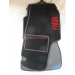 Коврики текстильные SKODA FABIA с 2006 черные