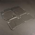 Коврики Hyundai i20 (09-) резиновые Norplast