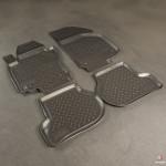 Коврики Volkswagen Jetta (05-) резиновые Norplast