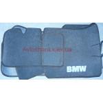 Коврики текстильные BMW 3 (E36) до 1998 серые