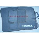 Коврики текстильные Honda Civik 2006-20112 Хетчбек 5D серые