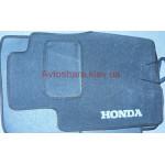 Коврики текстильные Honda CR-V 2007-2012 серые ручная КПП