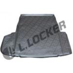 Коврик в багажник BMW 5 седан (E60) (02-10) полиуретан (резиновые) L.Locker