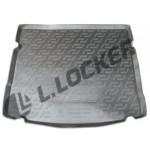 Коврик в багажник Chevrolet Cruze хетчбек (12-) полиуретан (резиновые) L.Locker