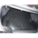 Коврик в багажник Daewoo Nexia (05-) полиуретан (резиновые) L.Locker