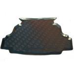 Коврик в багажник Geely Emgrand EC7-RV седан (11-) полиуретан (резиновые) L.Locker