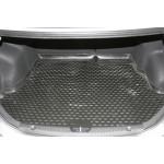 Коврик в багажник HYUNDAI Solaris, 2010- седан comfort,optima, family (полиуретан) Novline