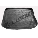 Коврик в багажник Kia Ceed хетчбек (07-) полиуретан (резиновые) L.Locker