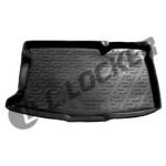 Коврик в багажник Mazda 2 хетчбек (08-) твердый L.Locker