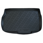 Коврик в багажник Opel Astra H хетчбек 3/5дв (04-09) полиуретан (резиновые) L.Locker