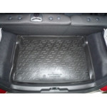 Коврик в багажник Peugeot 207 НВ (06-) полиуретан (твердые) L.Locker